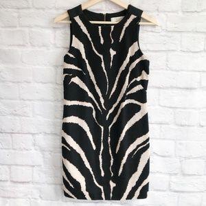 LOFT Mod Zebra Textured Cotton Shift